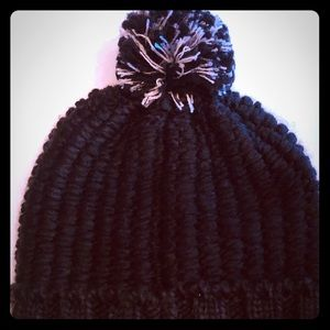 The North Face- cozy chunky beanie in black
